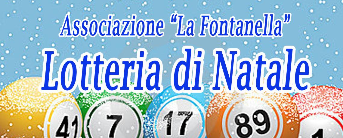 """Estrazioni Lotteria di Natale 2015 """"La Fontanella"""""""